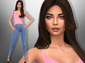 Sims 4 — Alexa Hines by divaka45 — Look at the creator`s notes for the custom content which I have used. DOWNLOAD