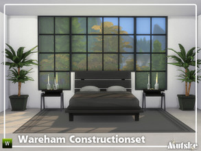 Sims 4 — Wareham Constructionset Part 1 by Mutske — This is the first part of the Wareham Construction. The endless