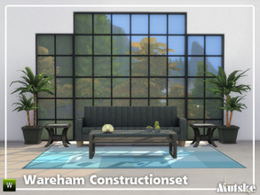 Sims 4 — Wareham Constructionset Part 2 by Mutske — This is the second part of the Wareham Construction. The endless