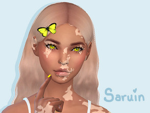 Sims 4 — Skin Detail| Vitiligo Set by Saruin — Wanted to try my hand at Vitiligo and after many false starts this is