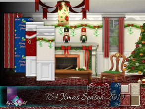 Sims 4 — TS4 Xmas Season 2019 by Emerald — I wishing you all, TSR staff and simmies : May your Christmas sparkle with