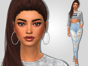 Sims 4 — Hanna Rushing by MSQSIMS — Name : Hanna Rushing Age : Young Adult Aspiration: Master Actress Traits: