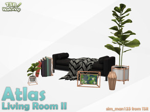 Sims 4 — Atlas Living Part 2 - Deco by sim_man123 — Some decorative items from my Atlas Living Room.