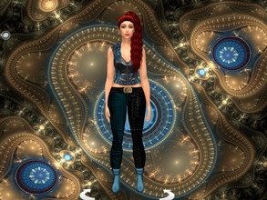 Sims 4 — Steampunk CAS Backgrounds by Kirathiel — Steampunk-inspired CAS Background Custom CAS background that replaces