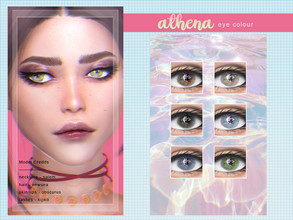 Sims 4 — [ Athena ] - Eye Mask by Screaming_Mustard — A new eye mask. For males and females, toddler +. With custom thumb