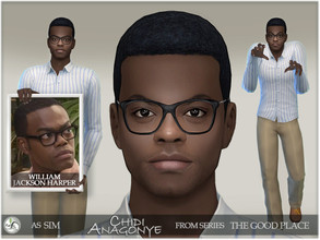 Sims 4 — The Good Place - Chidi Anagonye by BAkalia — Hello :) Another character from the series The Good Place is Chidi