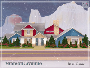 Sims 3 — Midnight Avenue by timi722 — Comfortable home for a medium family. Nursery room and kids room on the main floor.