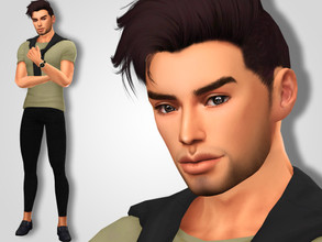Sims 4 — Jace Davidson by MSQSIMS — Name : Jace Davidson Age : Young Adult Aspiration: Leader Of The Pack Traits: