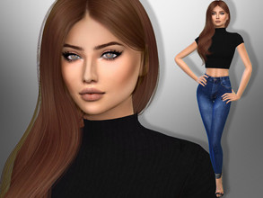 Sims 4 — Tea Landrum by divaka45 — Look at the creator`s notes for the custom content which I have used. DOWNLOAD