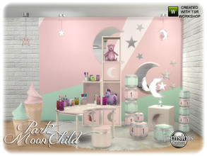 Sims 4 — Moonchild kids bedroom part 2 by jomsims — Moonchild kids bedroom part 2 the rest of your set. Moonchild Kids