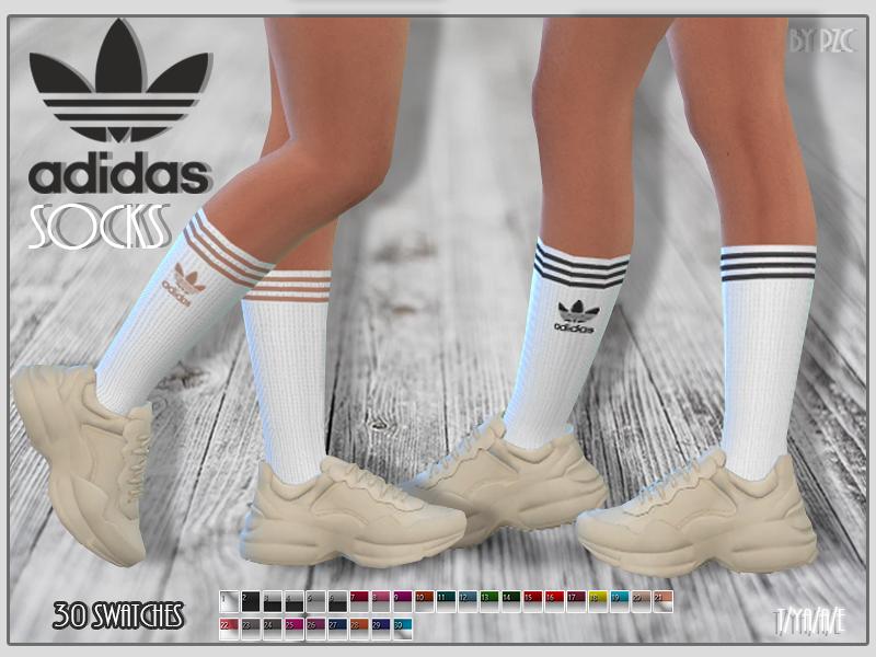 traductor tarjeta sobras  Pinkzombiecupcakes' Adidas Socks