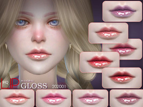 Sims 4 — S-Club LL ts4 Lipstick 202001 by S-Club — Lipstick, 12 swatches, hope you like, thank you.