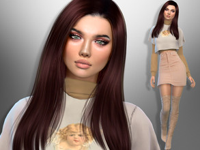 Sims 4 — Barbara Lew by divaka45 — Look at the creator`s notes for the custom content which I have used. DOWNLOAD