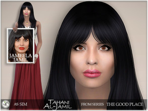 Sims 4 — The Good Place - Tahani Al-Jamil by BAkalia — Hello :) The last character from the series The Good Place is
