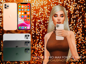 Sims 4 — IPhone 11 PRO MAX by Jul_Haos — A great replacement for your characters ' standard game phone. Make your
