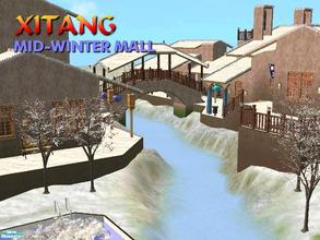 Sims 2 — Mid-Winter Mall - Xitang by Tiko —