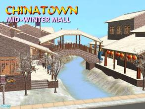 Sims 2 — Mid-Winter Mall - Chinatown by Tiko —