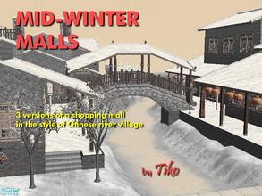 Sims 2 — Mid-Winter Malls by Tiko —