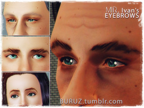Sims 3 —  by Buruz — Eyebrows for all ages. Male / Female.