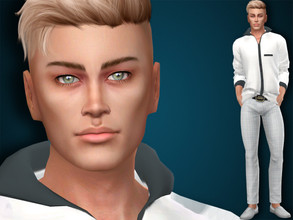 Sims 4 — Aaron Wilson by MSQSIMS — Name : Aaron Wilson Age : Young Adult Aspiration: World-Famous Celebrity Traits: