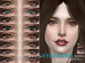 Sims 4 — S-Club WM ts4 Eyecolors 202001  by S-Club — Eyecolors, 15 swatches, hope you like, thank you.