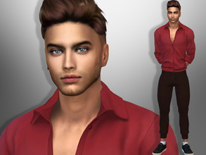 Sims 4 — Lucas York by divaka45 — Look at the creator`s notes for the custom content which I have used. DOWNLOAD