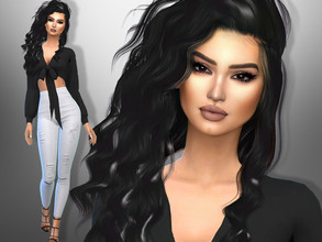 Sims 4 — Samanta Karavella by divaka45 — Look at the creator`s notes for the custom content which I have used. DOWNLOAD