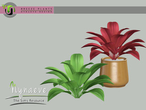 Sims 3 — Breeze Aida Plant by NynaeveDesign — Breeze Plants - Aida Found Under: Decor - Plants Price: 71 Tiles: 1x1