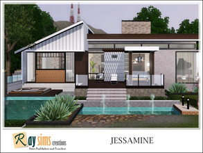 Sims 3 — Jessamine by Ray_Sims — This house has 2 bedroom and 2 bathroom. I really hope you guys like it.. Thank you very