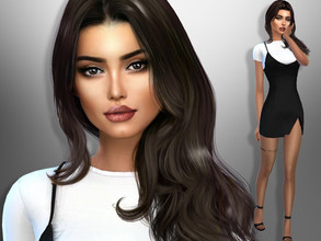 Sims 4 — Sarah Wells by divaka45 — Look at the creator`s notes for the custom content which I have used. DOWNLOAD