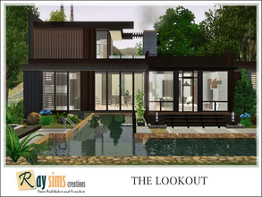 Sims 3 — The Lookout by Ray_Sims — This house has 2 bedroom and 3 bathroom. I really hope you guys like it.. Thank you