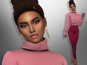 Sims 4 — Marcia Cardoso by divaka45 — Look at the creator`s notes for the custom content which I have used. DOWNLOAD