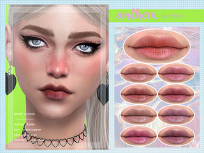 Sims 4 — [ Anthem ] Lip Colour by Screaming_Mustard — A very natural looking lip colour. Teen +. With custom thumb nail.