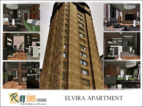 Sims 3 — Elvira's Apartment by Ray_Sims — This apartment has 2 bedroom and 1 bathroom. Hope you enjoy it :)