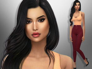 Sims 4 — Ashley Hatfield by divaka45 — Look at the creator`s notes for the custom content which I have used. DOWNLOAD
