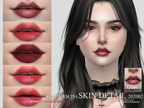 Sims 4 — S-Club WM ts4 Skin Detail 202002  by S-Club — Teeths, 5 swatches, hope you like, thank you.