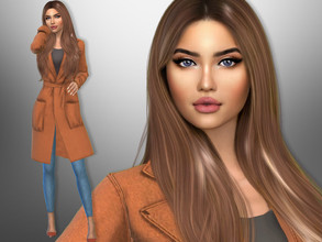 Sims 4 — Penelope Flores by divaka45 — Look at the creator`s notes for the custom content which I have used. DOWNLOAD