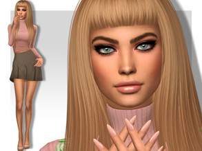 Sims 4 — Adeline Dobson by MSQSIMS — Name : Adeline Dobson Age : Young Adult Aspiration: Friend of the world Traits: