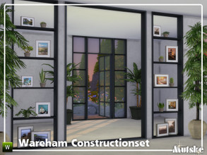 Sims 4 — Wareham Constructionset Part 3 by Mutske — This is the third part of the Wareham Construction. This set contains