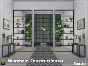 Sims 4 — Wareham Constructionset Part 4 by Mutske — This is the fourth part of the Wareham Construction. This set