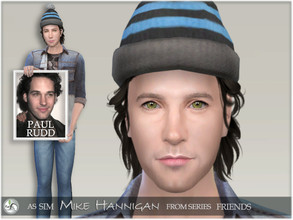 Sims 4 — FRIENDS - Mike Hannigan by BAkalia — Hello :) Mike Hannigan is Phoebe's husband in series Friends. He was