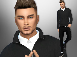 Sims 4 — Dylan Diaz by divaka45 — Look at the creator`s notes for the custom content which I have used. DOWNLOAD