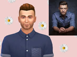 Sims 4 — Justin Timberlake by NewBee123 — Name: Justin Timberlake Age : Young Adult * No CC, skins, or sliders were used