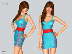 Sims 3 — Club Dress 025 by pizazz — Club Dress New Mesh