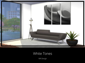 Sims 4 — White Tones by MR_Design — Tones of white color 15 swatches