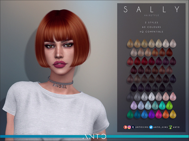 Anto Sally Hairstyle