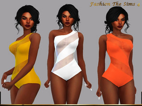 Sims 4 — Swimsuit Dandara by LYLLYAN — Swimsuit in 10 colors. Base game.