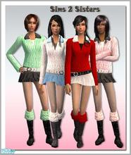 Sims 2 — S2S Collection No. 165101 - Set by sims2sisters —