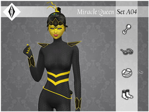Sims 4 — Miracle Queen - SetA04 by AleNikSimmer — THIS IS THE FULL SET. -TOU-: DON'T reupload my items as yours. DON'T