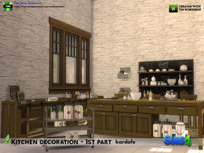 Sims 4 — kardofe_Kitchen decoration  1st part by kardofe — First part of three of disorder for the kitchen, this part